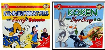 Kook- kinderfeestjes boekjes