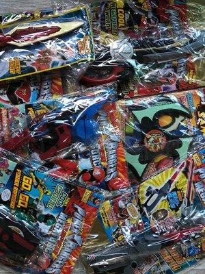 5 st. Power Rangers magzines met wapens