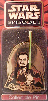 Star Wars pins Qui-Gon Jinn