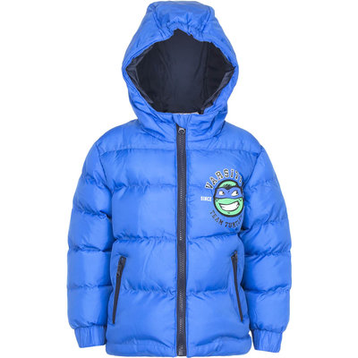 Teenage Mutant Ninja Turtles winterjas, blauw