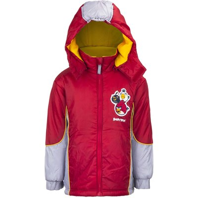 Angry Birds winterjas, rood