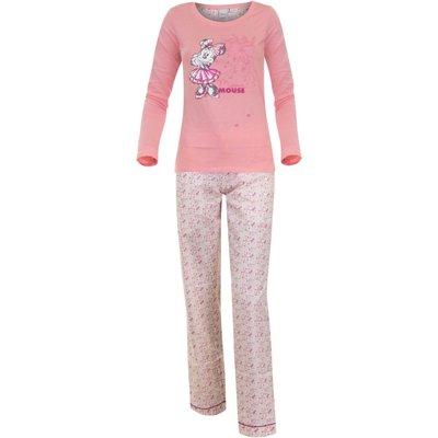 Disney Minnie Mouse pyjama voor volwassenen, roze/roze
