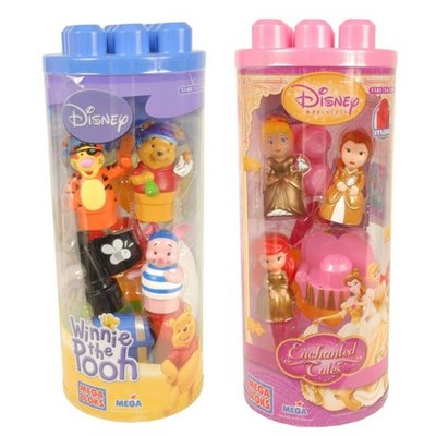 Disney speelsetje Mega Blocks Disney Princess