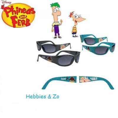 Phineas & Ferb zonnebril groen