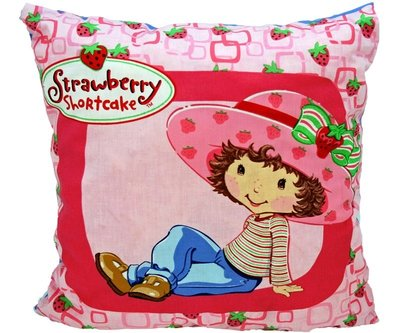 Sierkussentje Strawberry Shortcake