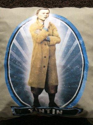 Sierkussentje Kuifje 35 x 35 cm