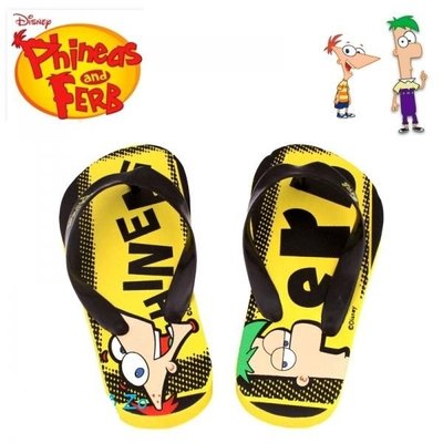 Phineas & Ferb slippers, div. maten