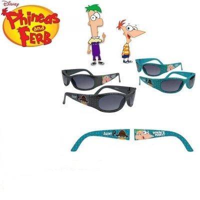 Phineas & Ferb zonnebril grijs