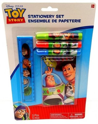Toy Story stationary set