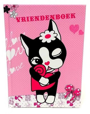 Vriendenboekje Rebecca Bonbon