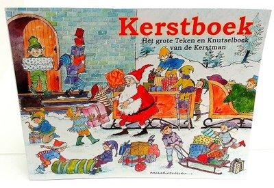 Kerst knutsel- / hobbyboek