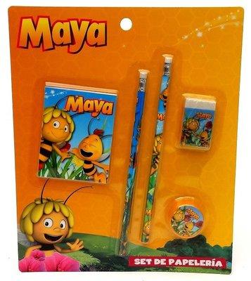 Maya de Bij schrijfset