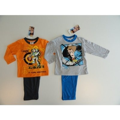Toy Story pyjama oranje / grijs maat 94