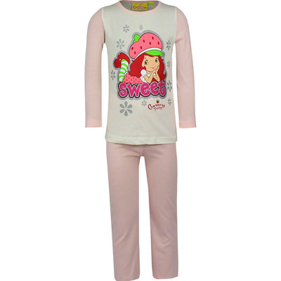 Strawberry Shortcake meisjes pyjama licht roze