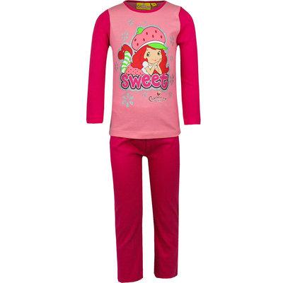 Strawberry Shortcake meisjes pyjama donker roze