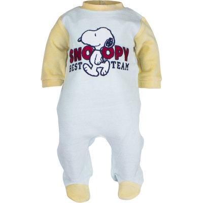 Snoopy babypakje mint / zacht geel