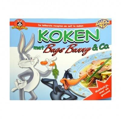 Kinderkookboek Koken met Bugs Bunny