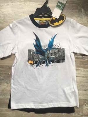 Batman shortama wit.