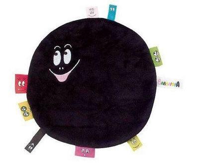Barbapapa knuffeldoekje zwart