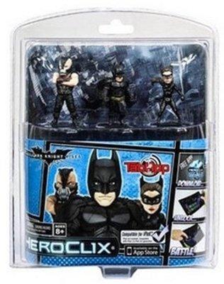 TabApp Heroclix Dark Knight rises met Batman, Catwoman en Bane