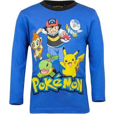 Pokemon longsleeve blauw maat 94