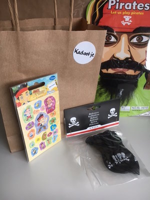 Piraten Goodiebag mini voor jongens !