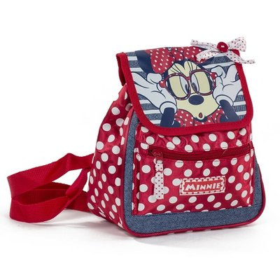 Minnie Mouse rugtasje rood / dots casual