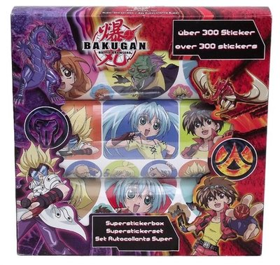 Bakugan stickerbox