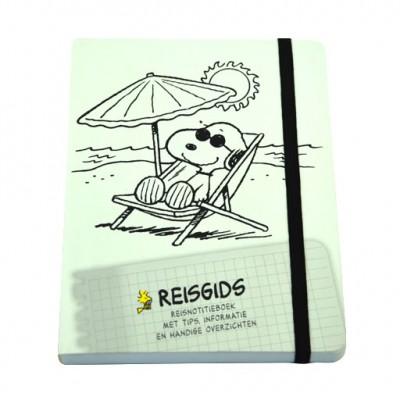 Snoopy reis- / notitie- dagboekje