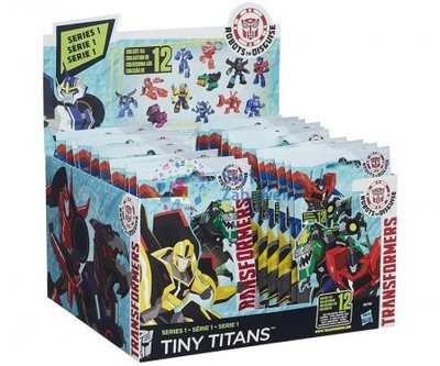 Transformers Tiny Titans Giftbag