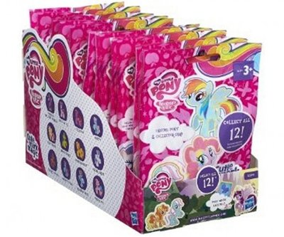 My Little Pony verzamelfiguurtje in giftbag