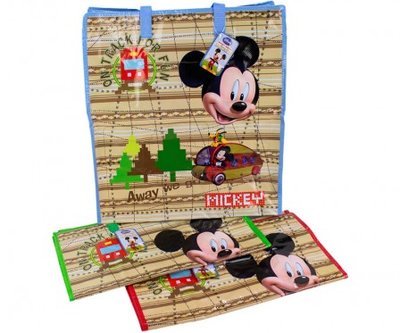 Mickey Mouse draagtas / shopper met rits