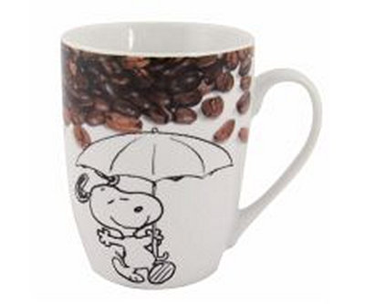Snoopy mok met opdruk : Coffee is not just a drink, it's a lifestyle