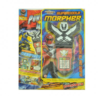 Power Rangers magazine met Morpher !
