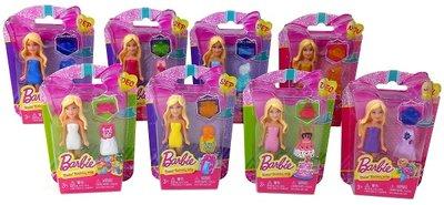 Barbie poppetje met accessoires in blister verpakking