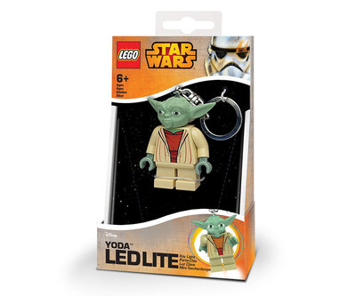 Lego Led zaklamp Star Wars Yoda incl. batterij