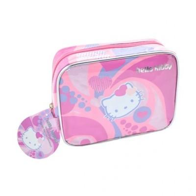 Hello Kitty toilettas 20 cm, roze / paars