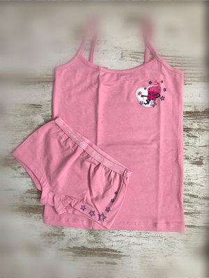 DICE ondergoedsetje roze Cute Girl, maat 2-3 jaar