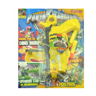 Power Rangers magazine met Blaster