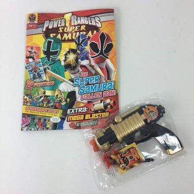 Power Rangers magazine met Mega Blaster