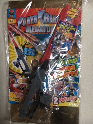 Power Rangers magazine met coole Robo-blade