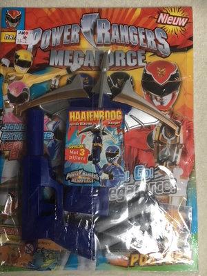 Power Rangers magazine met haaienboog !