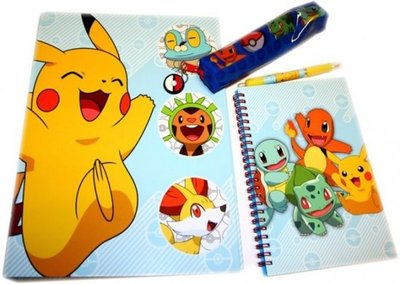 Pokemon stationary set 3-delig