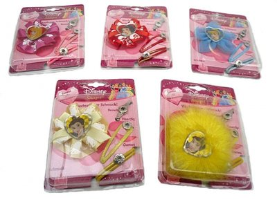 Disney Princess haarspeldjes.