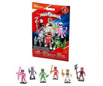 Power Rangers giftbag Mega Construx