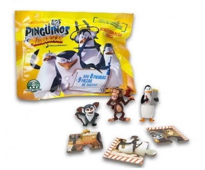 Pinguins van Madagascar giftbag