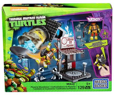 Mega Bloks Teenage Ninja Mutant Turtles Pizzeria Showdown, 129-delige set !