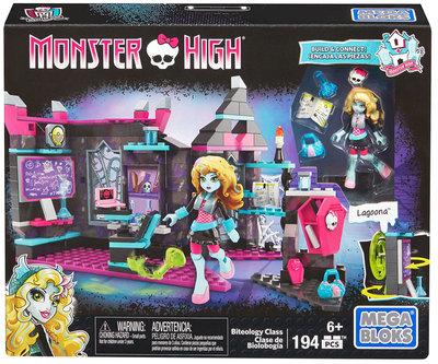 Mega Bloks Monster High Biteology Class, 194-delig