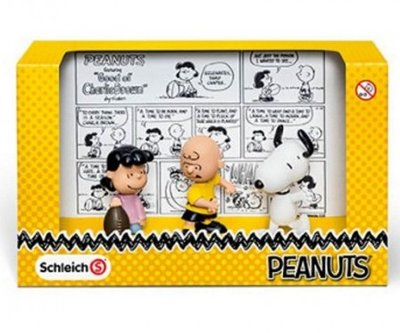 Snoopy speelfiguren set 3-delig classic