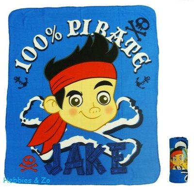 Jake and the Never Land Pirates fleecedeken